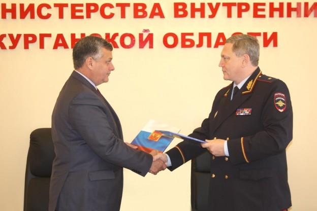 Уполномоченный по защите прав предпринимателей в Курганской области заключил соглашение с УМВД России по Курганской области.