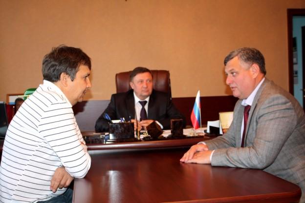 Бизнес-омбудсмен Курганской области провел рабочую встречу в Шумихинском районе