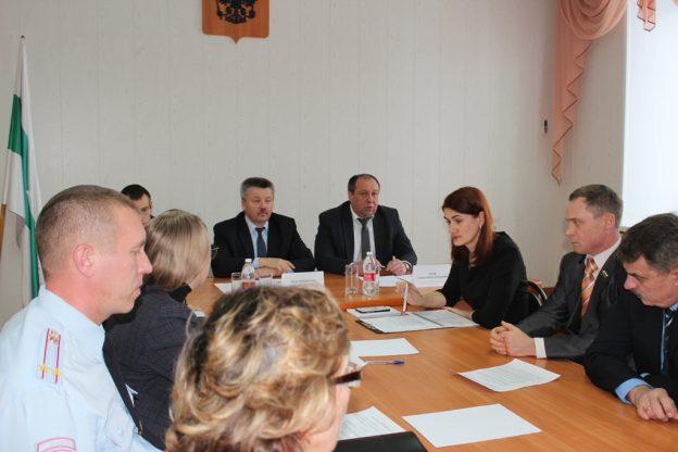 Алексей Чуев встретился с предпринимателями Шумихинского района